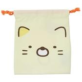 【角落生物束口袋】角落生物束口袋收納袋貓咪 正品該該貝比  ☆