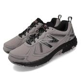 New Balance 慢跑鞋 NB 410 2E 寬楦 灰 黑 男鞋 越野 【ACS】 MT410SO52E