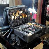 專業手提隔板大號化妝箱大容量多層