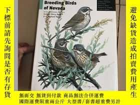 二手書博民逛書店Atlas罕見of the Breeding Birds of