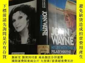 二手書博民逛書店JOHN罕見WAYNE (My life with the Duke,Oscar winner)奧斯卡獎最佳男演員