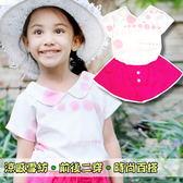 【韓版童裝】氣質娃娃領點點二穿雪紡襯衫-白【BD16052016】