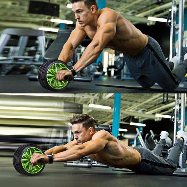 健腹器 健腹輪收腹鍛煉減肚子女滾輪巨輪運動收腹肌健身器材家用男腹肌輪