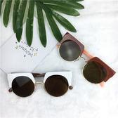 新款韓國太陽鏡女眼睛2018個性方形白色網紅同款墨鏡男士潮人眼鏡  巴黎街頭