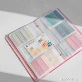 geeyrea名片冊 名片夾大容量商務 名片本男女時尚卡片夾 分裝收納 卡卡西