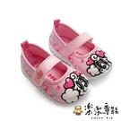 【樂樂童鞋】【台灣製現貨】MIT巴布豆娃娃鞋-粉 C038-1 - 現貨 台灣製 小童鞋 女童鞋 寶寶鞋 學步鞋