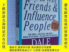 二手書博民逛書店How罕見to win friends & influence