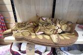 慵懶貓地墊