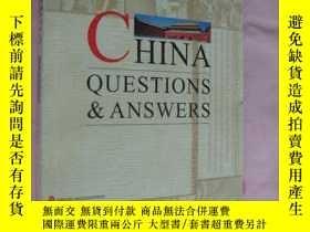二手書博民逛書店CHINA罕見QUESTIONS & ANSWERSY14681
