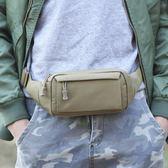 運動腰包男多功能男士手機隨身迷你胸包防水休閒6.4寸跑步小包包
