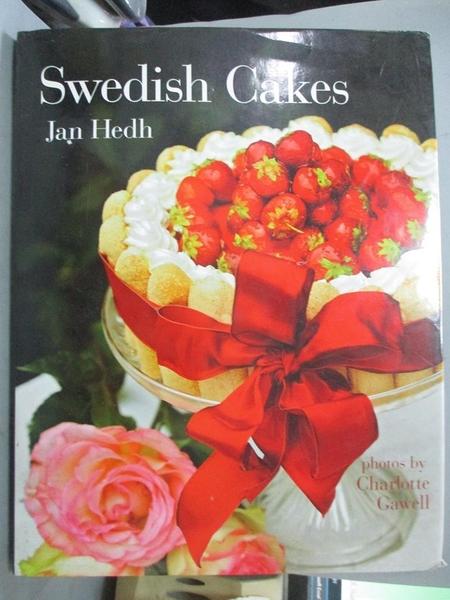 【書寶二手書T3/餐飲_EQC】Swedish Cakes_Hedh, Jan/ Gawell, Charlotte (PHT)