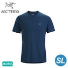 【ARC TERYX 始祖鳥 男 Motus SL 快乾短袖圓領衫《無限藍》】26837/短袖T恤/運動衫/透氣/吸濕排汗
