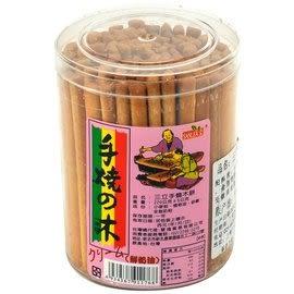 手燒木餅-鮮奶油口味(棒棒餅) 220公克/罐【合迷雅好物超級商城】
