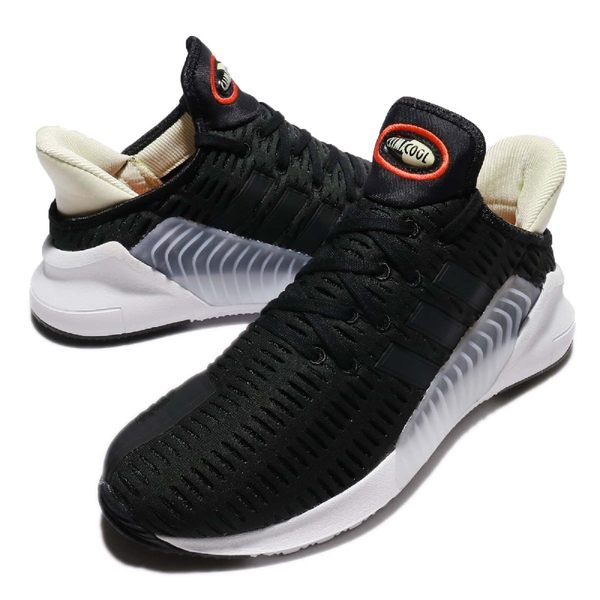 sports shoes de459 287fb 【六折特賣】adidas 慢跑鞋 ClimaCool 02/17 黑 白 透氣 女鞋 休閒款 潮流百搭款 【PUMP306】 BY9290