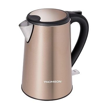 【艾來家電】【分期0利率+免運】THOMSON湯姆盛 304不鏽鋼1.5L雙層不鏽鋼快煮壺 TM-SAK13