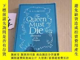 二手書博民逛書店the罕見queen must dieY246305