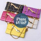 iPhone 6P / 6s Plus 高跟鞋錢包三折皮套 插卡 側翻皮套 手機套 手機殼 保護套 保護殼 配件