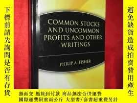 二手書博民逛書店Common罕見Stocks and Uncommon Prof