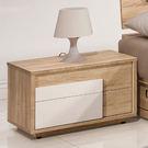 【森可家居】多莉絲床頭櫃(單) 7ZX121-2 木紋質感 無印風 北歐風