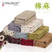 美式桌布布藝棉麻長方形茶幾圓桌方餐桌蓋布巾