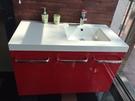 【麗室衛浴】 美國KOHLER NATURA系列  一體成型人造石檯面盆 K-15453T-0 +台製浴櫃