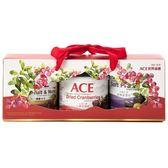 2019 ACE 果乾堅果禮盒 大蔓越莓乾x1+軟蜜棗乾x1+健康纖果x1