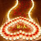 蠟燭 生日蠟燭玫瑰套餐蠟燭創意浪漫求愛布...