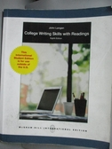 【書寶二手書T2/語言學習_XCU】College Writing Skills With Readings_John