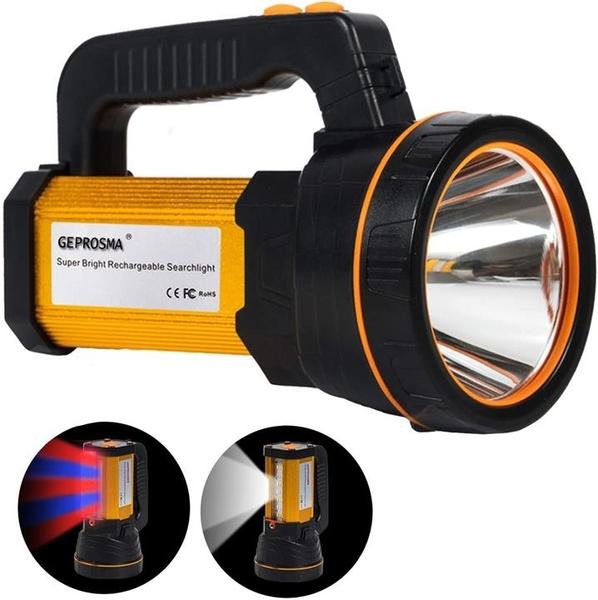 【日本代購】手電筒 led usb充電式 強力 強 高亮度 高6000流明手電筒 大容量電池 電池 10000mah