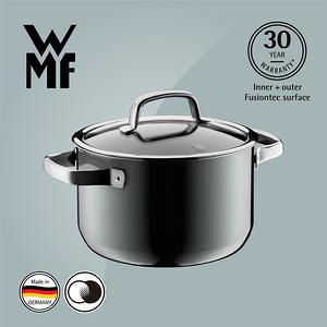 【WMF】Fusiontec 高身湯鍋 20cm 3.7L(鉑灰色)