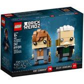 樂高積木 LEGO《 LT41631 》Brickheadz 積木人偶系列 -  紐特·斯卡曼德 x 蓋瑞·葛林戴華德