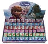 【卡漫城】冰雪奇緣印章六顆組方形㊣版Frozen 玩具獎勵圖章艾莎安娜雪寶Olaf Ann