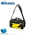 MIKASA 球袋-兩顆裝 收藏袋 外出袋 包包 背包 外出背包 黃黑色 MKVL2C-BKY 原價1200元