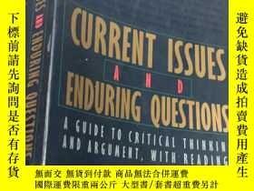 二手書博民逛書店CURRENT罕見ISSUES AND ENDURING QUESTIONS (SIXTH EDITION)Y