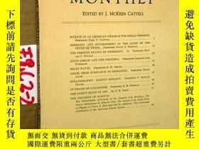 二手書博民逛書店SCIENTIFIC罕見MONTHLY 科學月刊1937年1月