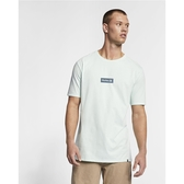 Hurley PREMIUM ONE AND ONLY SMALL BOX SHORT SLEEVE T恤-淺綠(男)