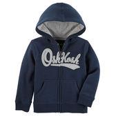 OSHKOSH平行輸入童裝 男寶寶 純棉連帽薄外套 深藍【OS12576916】