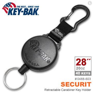 """KEY BAK SECURIT 28""""極度負重伸縮鑰匙圈 #0488-603【AH31048】99愛買生活百貨"""