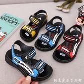 男童涼鞋2020夏季新款韓版中大童軟底小男孩兒童沙灘鞋子寶寶童鞋 雙十一全館免運