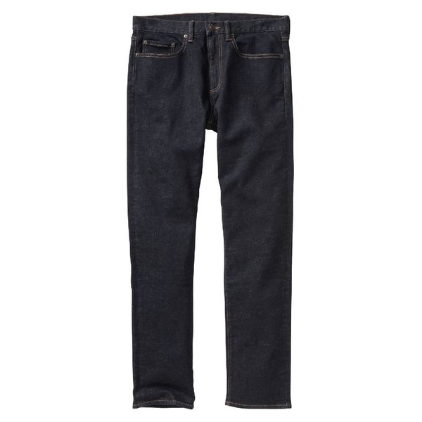 Gap男裝 基本款中腰彈力修身男士牛仔褲 鉛筆褲長褲男 814771-水洗色