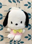 【震撼精品百貨】Pochacco 帕帢狗~三麗鷗造型玩偶絨毛-黃領結*56864
