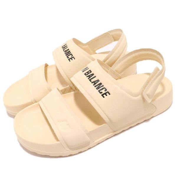 New Balance 涼鞋 SD3601WWB D 黃 黑 韓系 防水 魔鬼氈 女鞋 涼拖鞋【PUMP306】 SD3601WWBD