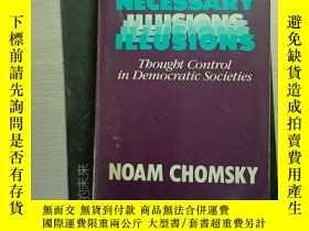 二手書博民逛書店necessary罕見illusions--thought control in democratic socie