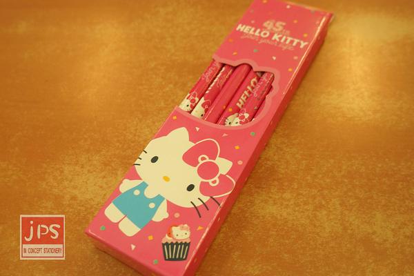 Hello Kitty 凱蒂貓 45週年 三角木頭鉛筆 內含12入 823579