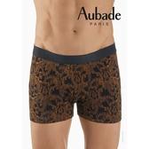 Aubade man-舒棉M-XL平口褲(黃金蕨)