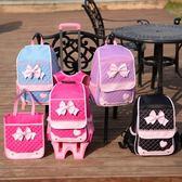 小學生拉桿書包女孩兒童1-3-5年級背包6-12周歲六輪爬樓防水公主4 QM 美芭
