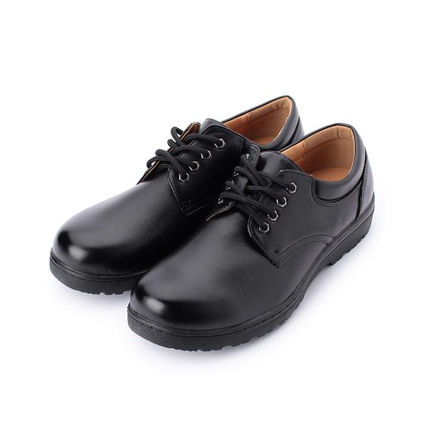 SARTORI 綁帶圓頭皮鞋 黑 男鞋 鞋全家福
