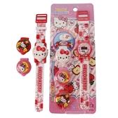 Hello Kitty 可換錶蓋凱蒂貓電子錶 A496KT變裝手錶/一個入(促220)(內附電池) KT電子錶 -佳KT013252