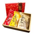 [千翔肉乾] 超彭湃福旺禮盒(肉乾222g+辣牛174g+蜜汁波可棒270g)