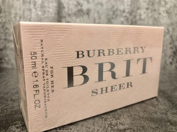 BURBERRY BRIT Sheer 粉紅風格 女性淡香水 50ml◐香水綁馬尾◐